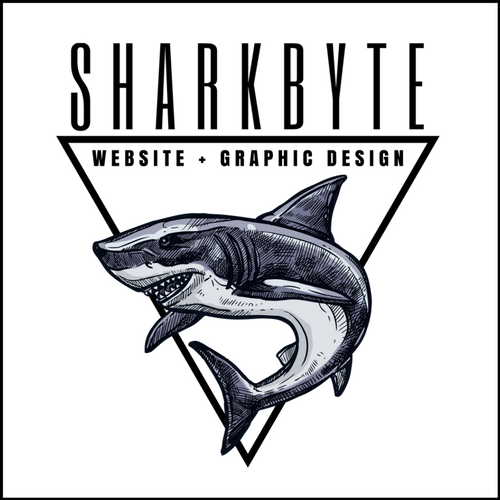 sharkbyte websites and graphic design